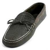 Unlined Lined Buffalo Hide Soft Sole Moc
