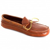 Mens Unlined Bullhide Triple Sole Canoe Moc